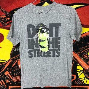 Nike Graffiti Just Do It Tennis Shirt Slim Fit
